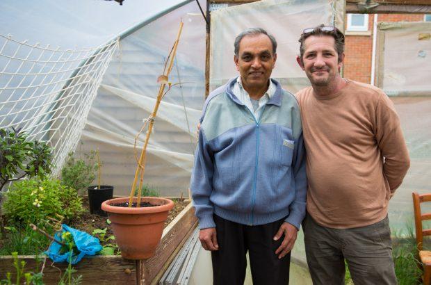 Mr. Patel and Rob & Jambo Plant
