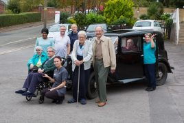 Southfield Residents with Austin 10